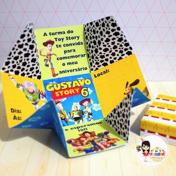 caixa convite Toy Store