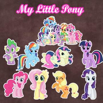 Apliques / Recortes - My Little Pony