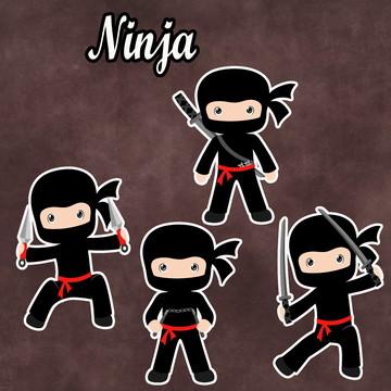 Apliques / Recortes - Ninja