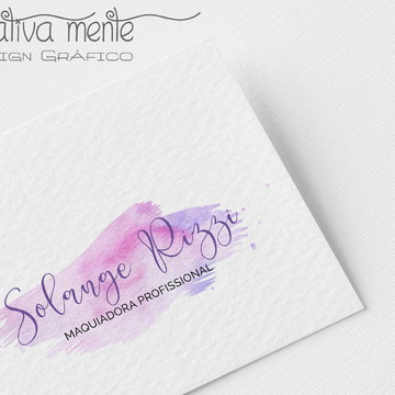 Logo watercolor