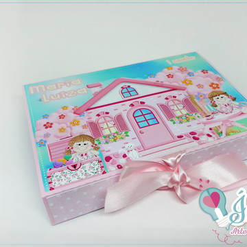 Caixa Kit pintura Casa de boneca