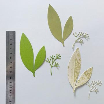 Recorte Folhas e Raminho