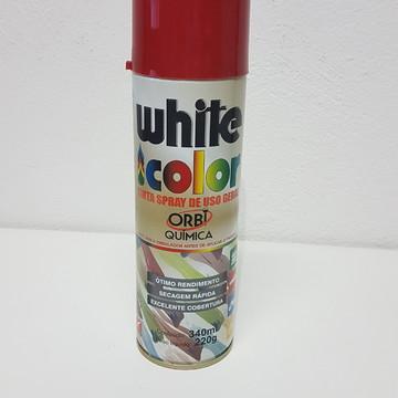 Tinta em Spray - Vermelho