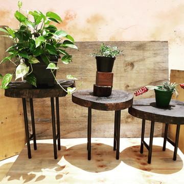 Mesa De Enfeite Com 4 Pes Ferro,mesa canto promocao
