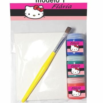 Kit pintura-Hello kitty