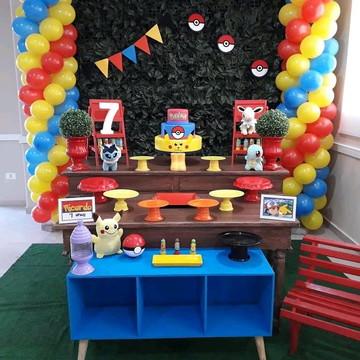 Aluguel decoração pokemon