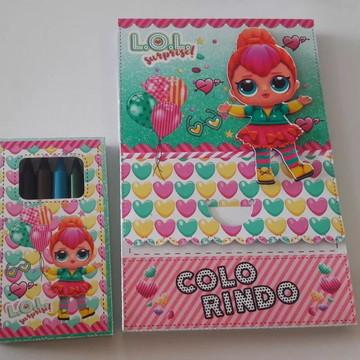 Arquivo de corte Lol kit colorir