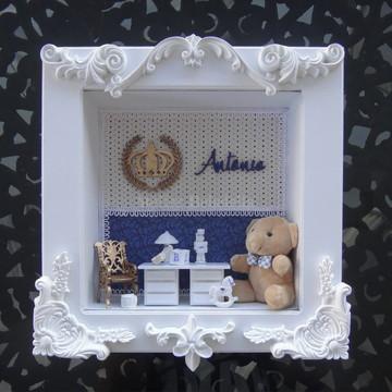 Quadro decorativo para quarto de bebê: Antônio