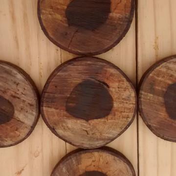 porta copo madeira,bolachinha de madeira,bolacha de madeira