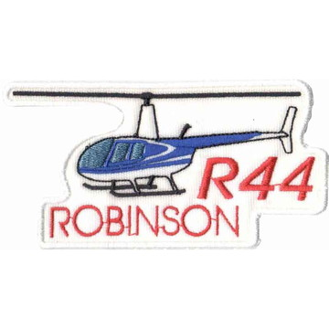 Patch Bordado - Helicoptero R44 Robinson AV20080