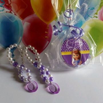 Lembrancinha Princesa Sofia - Pulseiras