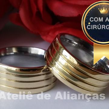 aliança moeda antiga casamento