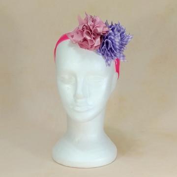 Acessório de Carnaval 2019_090_Flores rosa e lilás