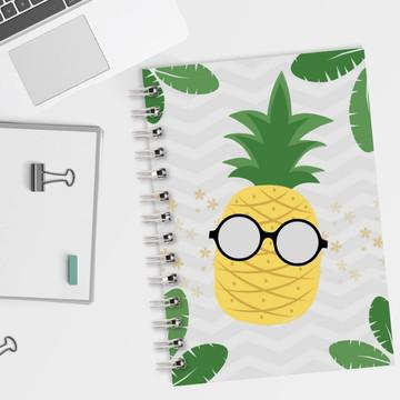 Caderno Pautado Abacaxi 2019