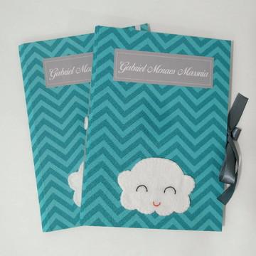 KIT Livro do Bebê Slim e Capa para Caderneta de Vacinação
