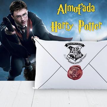 Almofada Carta de Hogwarts