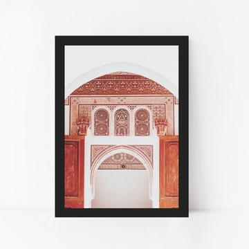 Quadro Decorativo Arquitetura Mediterrânea Decoração 1