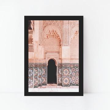 Quadro Decorativo Arquitetura Mediterrânea Decoração 2