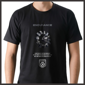 Camiseta Filme Interstellar Endurance
