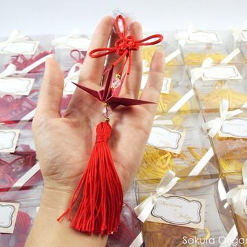 móbile oriental na caixa pet * casamento