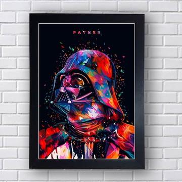 Quadro Personagens Star Wars