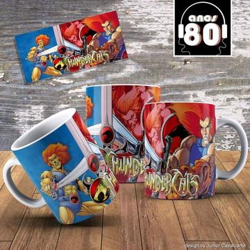 Caneca Anos 80 - Thundercats