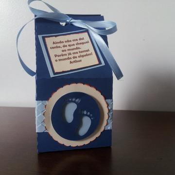 Caixa lembrancinha nascimento