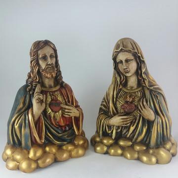 Sagrados Corações - Jesus e Maria