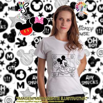 Baby look Feminina Mickey Baby