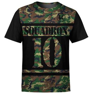 Camiseta masculina Camuflada Squadron Md01