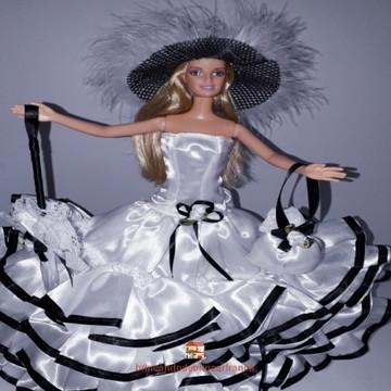 Roupinhas de boneca para Barbie - Finos de Fita