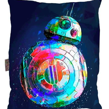 Almofada Star Wars Pop Art BB8