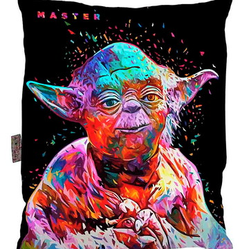 Almofada Star Wars Pop Art Mestre Yoda