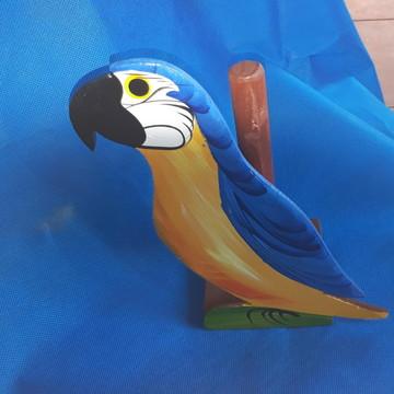 Porta Rolo de Papel Toalha Para Cozinha Azul e Amarela