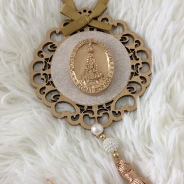 Mandala de Porta Medalha Nossa Senhora Aparecida.