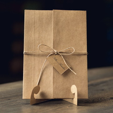 Convite de Casamento Rústico - Pomerode