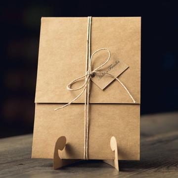 Convite de Casamento Rústico - Eldorado