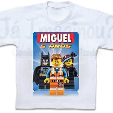 Camiseta Lego Movie