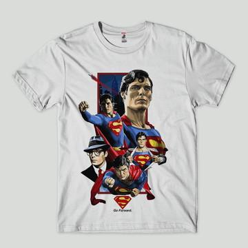 3e8e228fa Camiseta Masculina e Blusa Feminina Super Herois Super Homem