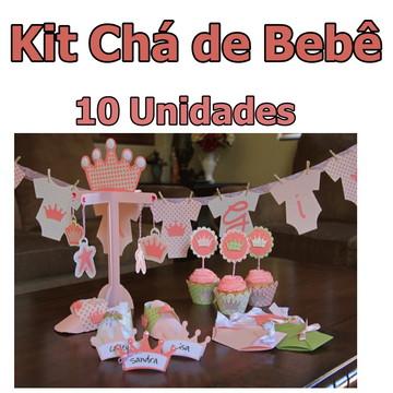 Kit Chá de Bebê Personalizado