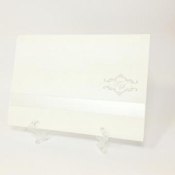 Convite barra de papel especial