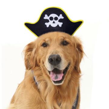 Chapéu Pirata Para Cachorro Ou Gato - Acessório De Carnaval