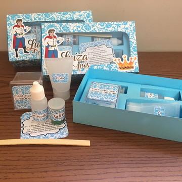 Kit Slime Caixa Embalagens Personalizadas