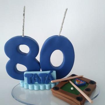 Vela 80 anos Sinuca