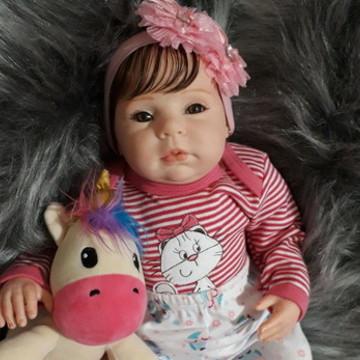 Linda Boneca Bebê Reborn