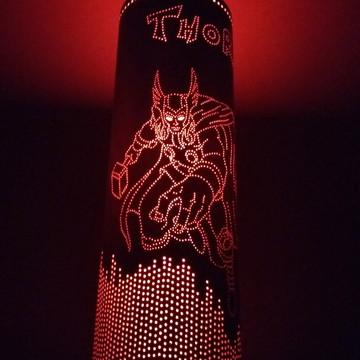 Luminária Artesanal de PVC Thor