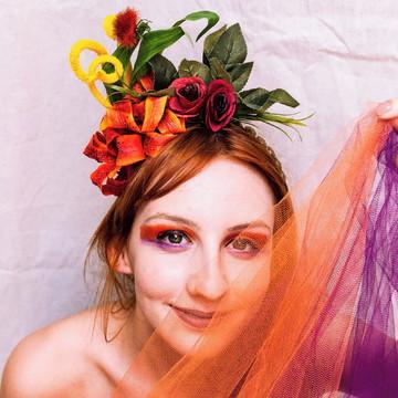 Acessório de Carnaval para Cabelo | Liberta - Calor