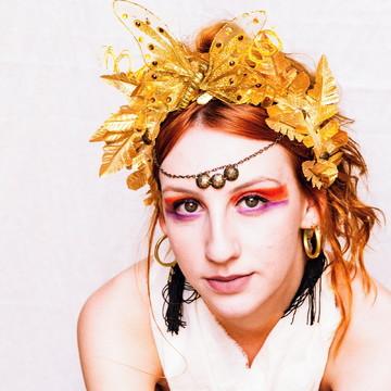 Acessório de Carnaval para Cabelo | Liberta - Arco Romano