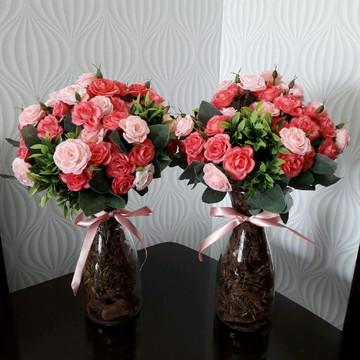 Arranjo Floral Decorativo Unid