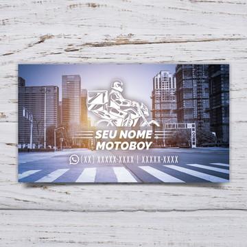 Cartão de Visita Motoboy C/500 #MTB01